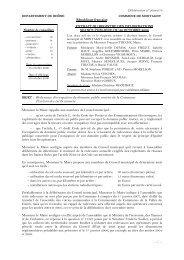 OBJET : Redevance d'occupation du domaine public ... - Montagny