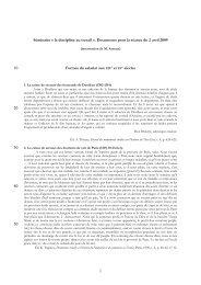 la discipline au travail ». Documents pour la séance du 2 avril 2009 ...