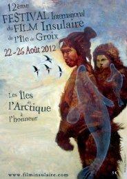 Catalogue 2012 - Festival International du Film Insulaire