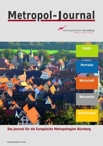 Das Journal für die Europäische Metropolregion Nürnberg