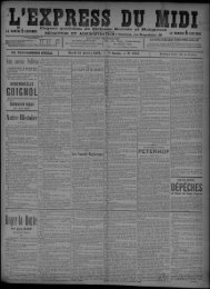 13 juillet 1897 - Bibliothèque de Toulouse