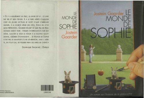 Le Monde de Sophie - Jostein Gaarder (En pdf) - Oasisfle