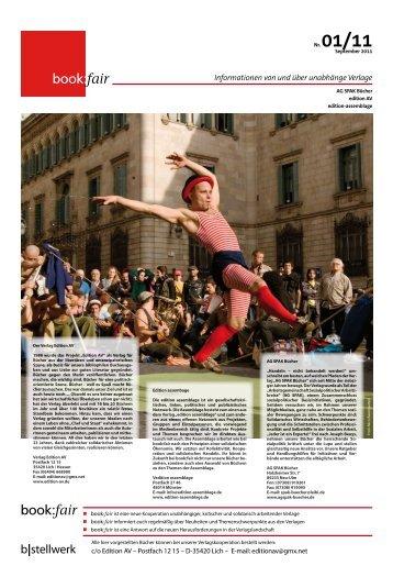 book:fair Zeitung Nr. 1 – September 2011