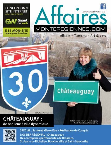 CHÂTEAUGUAY : - Affaires Montérégiennes