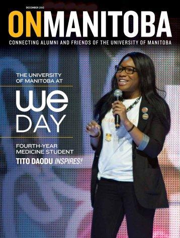 December 2012 - University of Manitoba