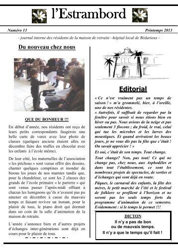 Printemps 2013 - Hopital de Bédarieux