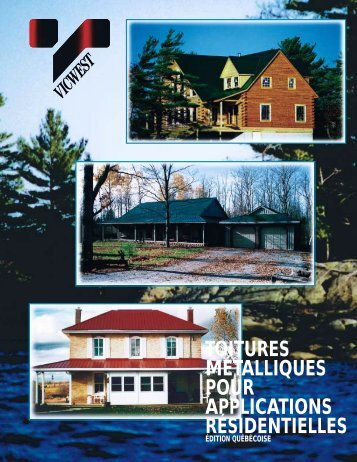 Guide d'installation pour toiture