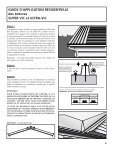 Guide d'installation pour toiture - Page 6