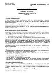 3- Fourriere auto Note presentation activité 2011 - Reims Métropole