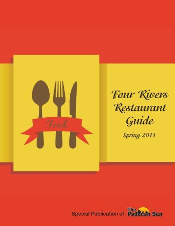 Four Rivers Restaurant Guide Spring 2013