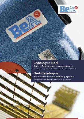 Catalogue BeA BeA Catalogue