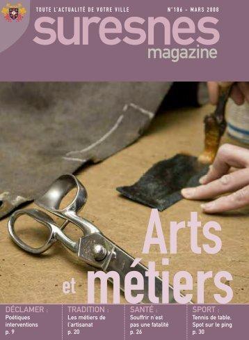 Suresnes Magazine - mars 2008