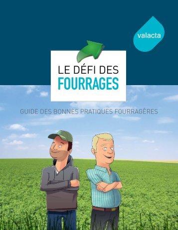Guide pratique Défi des fourrages - Valacta