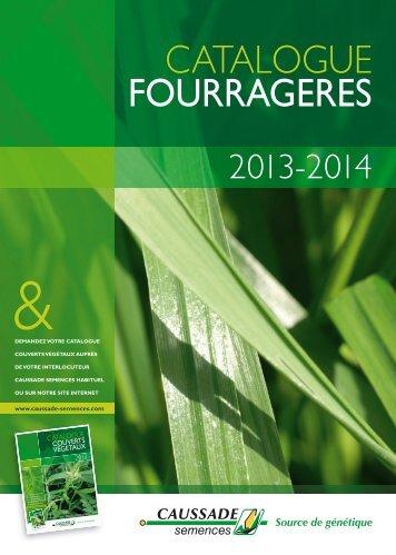 CATALOGUE FOURRAGERES - Caussade-Semences