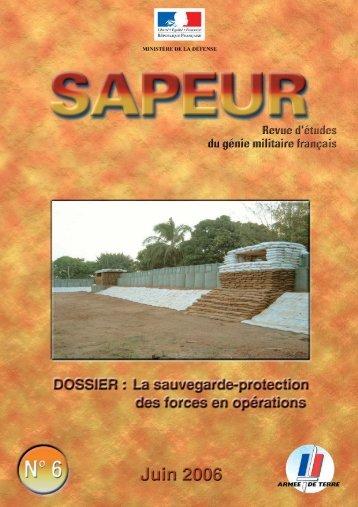 Sapeur n°6. Télécharger en PDF - Le génie militaire français