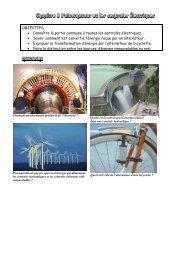 Chapitre 8 L'alternateur et les centrales électriques