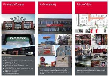 [PDF] Filialbeschrifter-Broschüre - Signal Reklame  GmbH