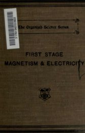 MAGNETISM & ELECTRICITY