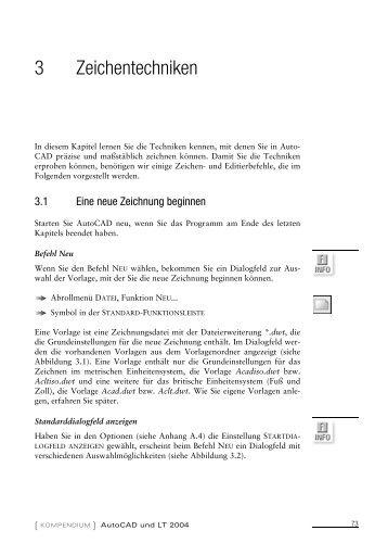 AutoCAD und LT 2004 'Kompendium' - Markt und Technik