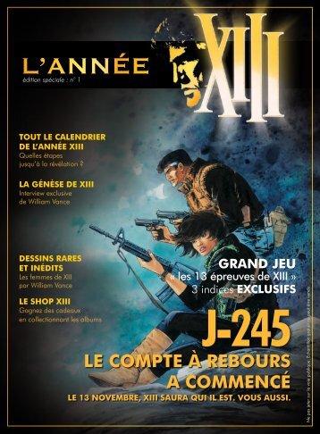 L'ANNÉE - XIII