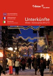 Gastgeberkatalog Winter/Sommer (2012/2013)