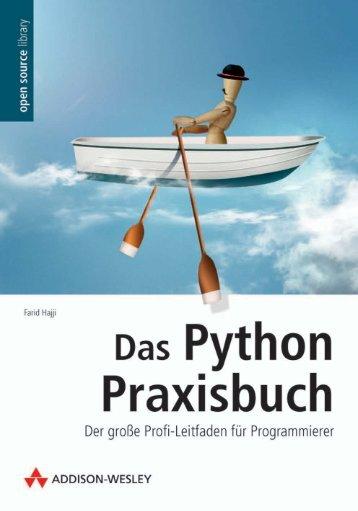 Das Python Praxisbuch  - *ISBN 978 ... - Addison-Wesley