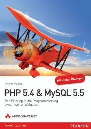 PHP 5.4 & MySQL 5.5 *978-3-8273-3164-9 ... - Addison-Wesley