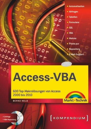 Access-VBA - Die Onleihe