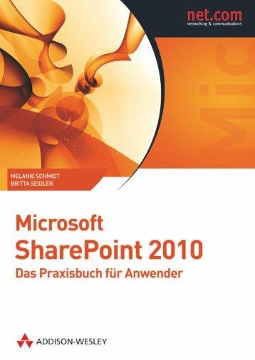 Microsoft SharePoint 2010  - *ISBN ... - Addison-Wesley
