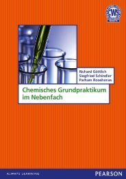 Chemisches Grundpraktikum im Nebenfach ... - Pearson Studium