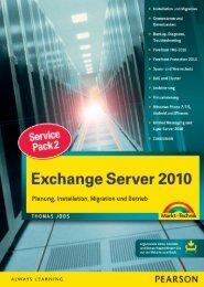 Exchange Server 2010 SP2 - Markt und Technik