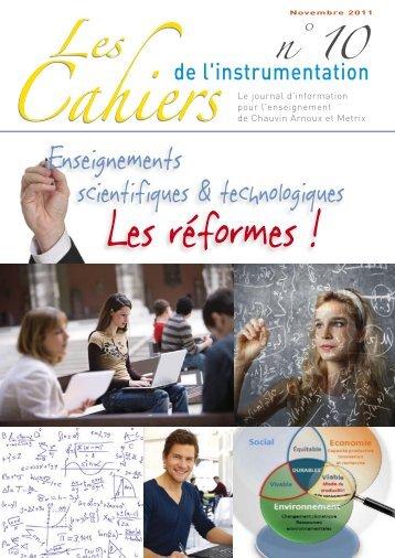 cahier_10.pdf - Chauvin Arnoux