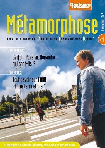 Metamorphose n°1 - ORU - Communauté urbaine de Cherbourg