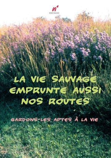 La vie sauvage emprunte aussi nos route - Portail environnement de ...