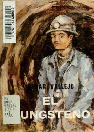 El tungsteno : novela