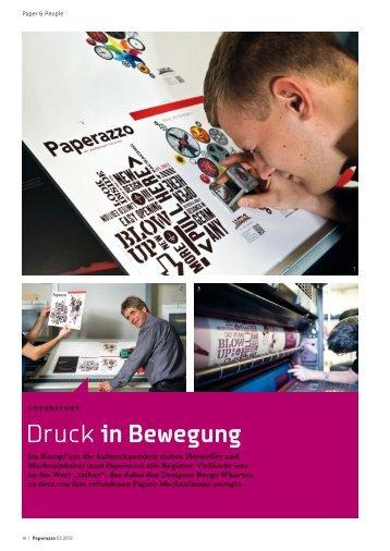 Druckin Bewegung - WDS Pertermann