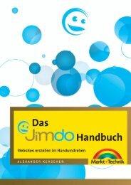 Das Jimdo-Handbuch - Markt und Technik