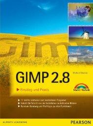 Gimp 2.8 - Pearson Bookshop - Pearson Deutschland
