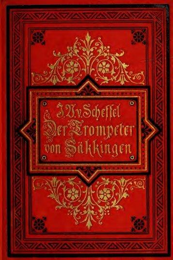 Der Trompeter von Säkkingen, ein Sang vom Oberrhein