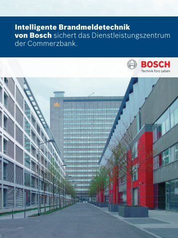 DLZ Commerzbank (PDF) - Bosch Sicherheitssysteme GmbH