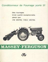 Des fourrages - Massey Archives