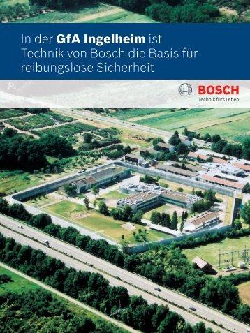 GfA Ingelheim - Bosch Sicherheitssysteme GmbH