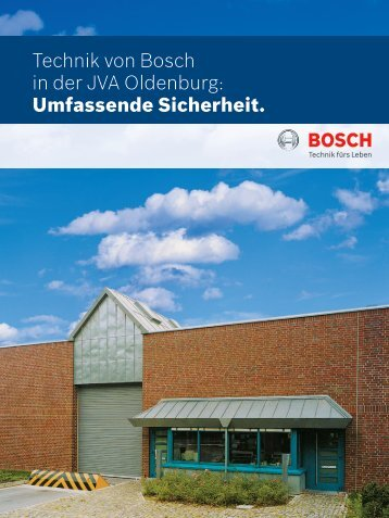 JVA Oldenburg - Bosch Sicherheitssysteme GmbH