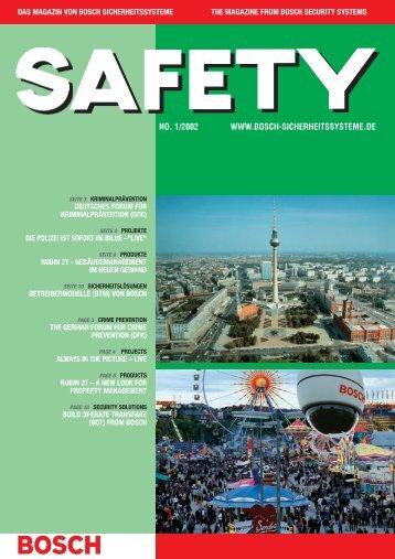 Bosch/Safety-Brosch?re 01/02 - Bosch Sicherheitssysteme GmbH