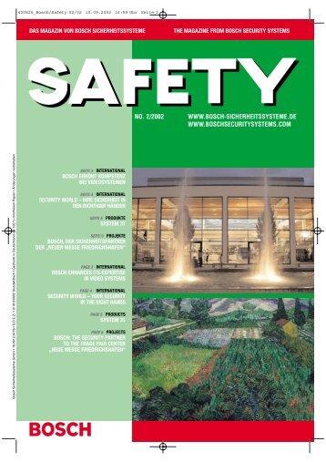 400825_Bosch/Safety 02/02 - Bosch Sicherheitssysteme GmbH