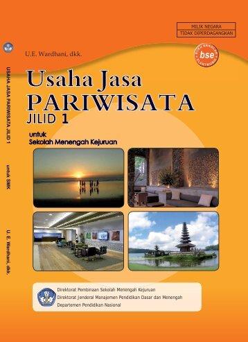 Usaha Jasa Pariwisata Jilid 1 untuk SMK