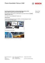 PDF-Download - Bosch Sicherheitssysteme GmbH
