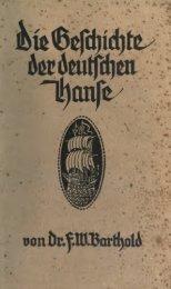 Die Geschichte der deutschen Hanse