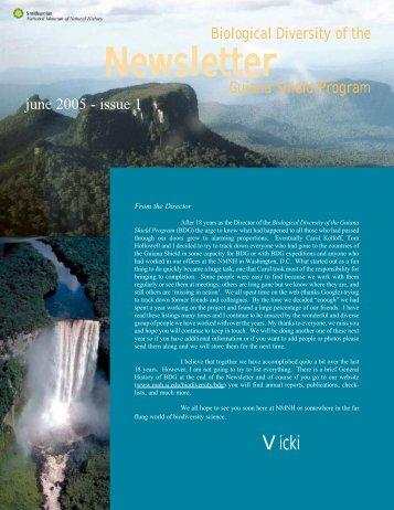 Newsletter Newsletter Newsletter Newsletter - Department of Botany ...