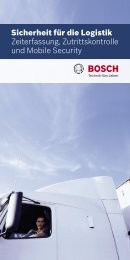 Zeiterfassung, ZuKo, Mobile Security (PDF) - Bosch ...